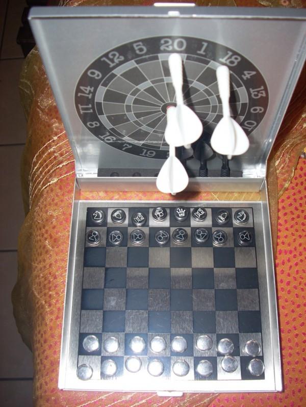 Μαγνητικός στόχος με σκάκι 15€